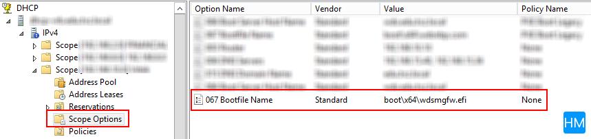 Default boot opcija